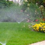 impianto irrigazione erba